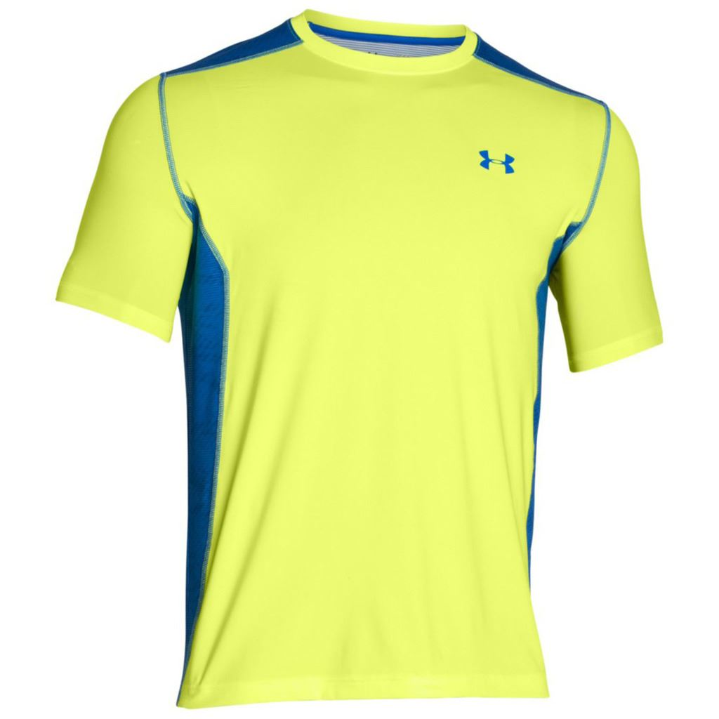 Under armour 2017 mens ua heatgear raid ss training t for Under armour fitted t shirt