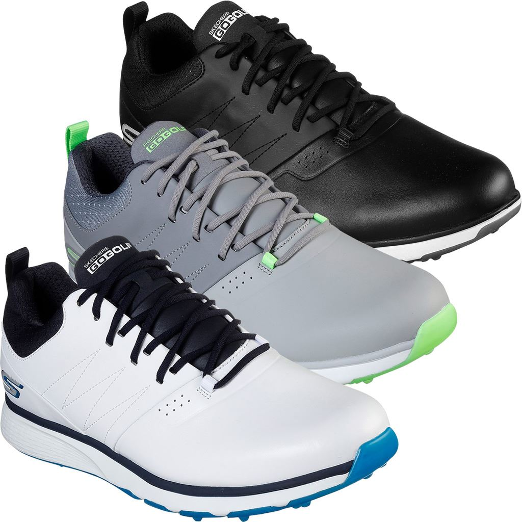 Details about Skechers Go Golf Mojo Elite Punch Shot UK 11 EU 45.5 White & Blue 54538