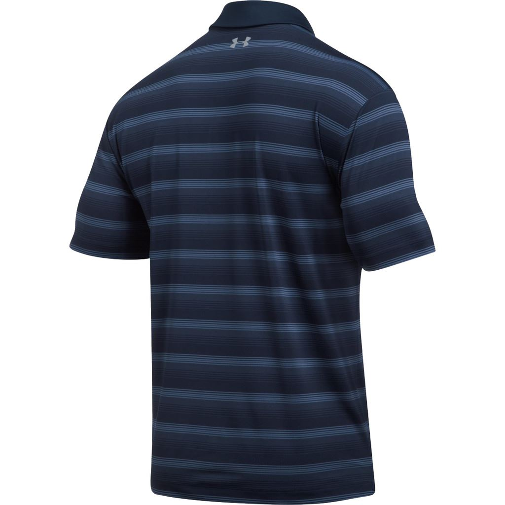 50-OFF-UNDER-ARMOUR-COOLSWITCH-BERMUDA-STRIPE-POLO-MENS-GOLF-POLO-SHIRT thumbnail 3