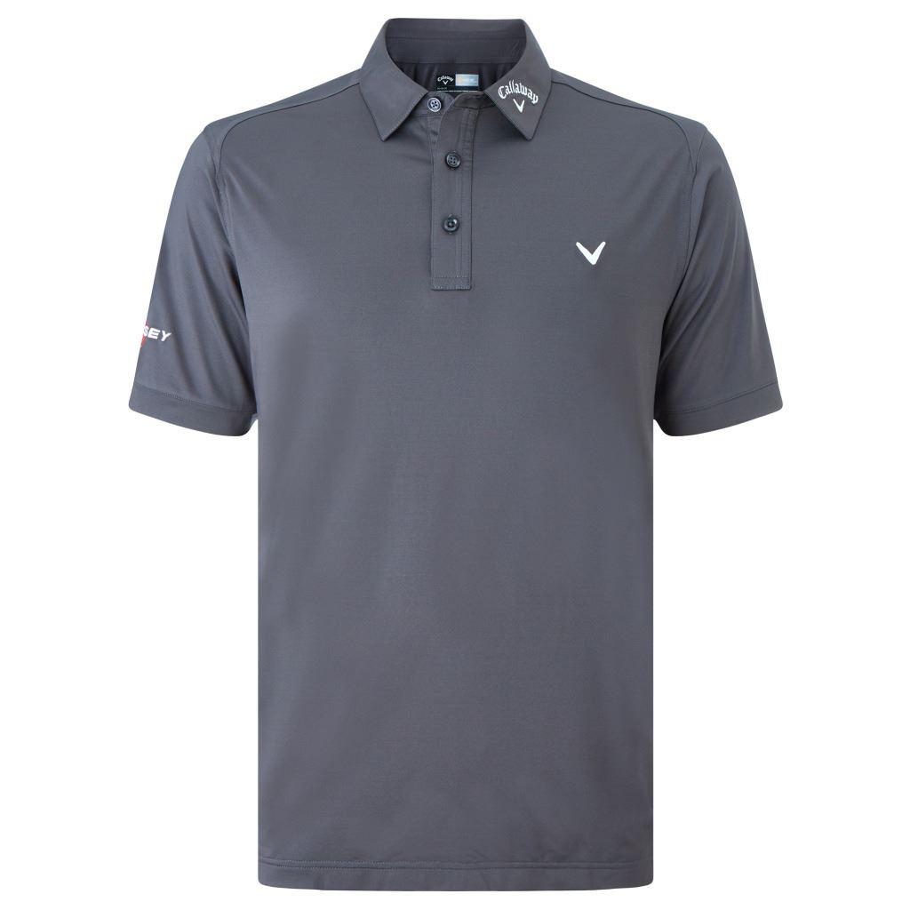 56 off rrp callaway golf mens solid interlock odyssey for Amazon logo polo shirts