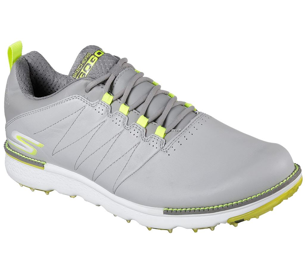 Skechers Grey Leather Shoes