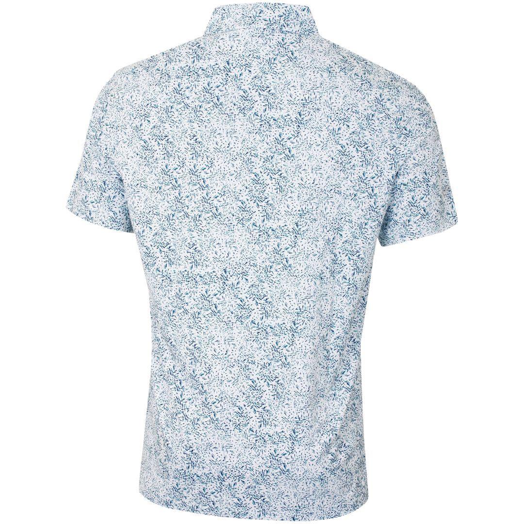 Callaway-Golf-Mens-SS-Roadmap-Texture-Print-Stretch-Golf-Polo-Shirt thumbnail 3