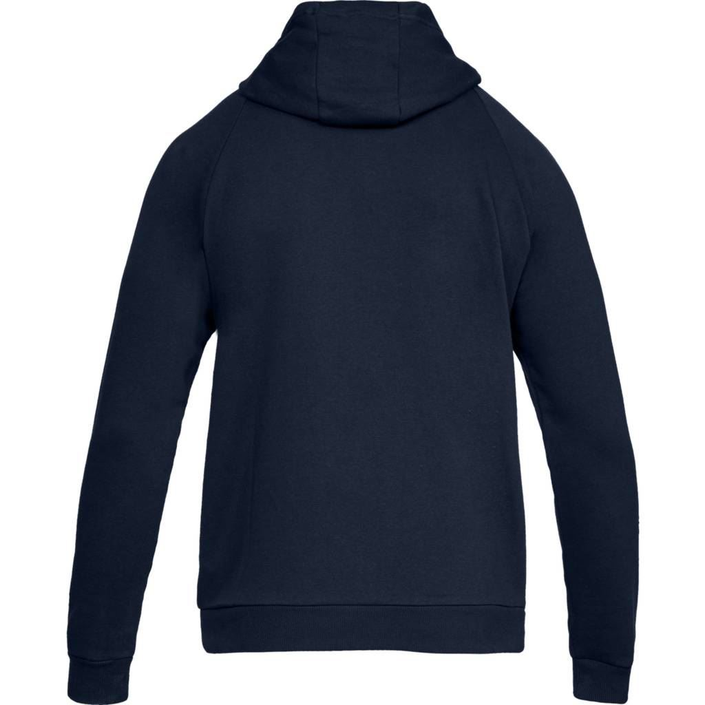 Under-Armour-2019-Rival-Fleece-Full-Zip-Hoodie-Mens-Sports-Fitness-Hoody-Jumper thumbnail 3