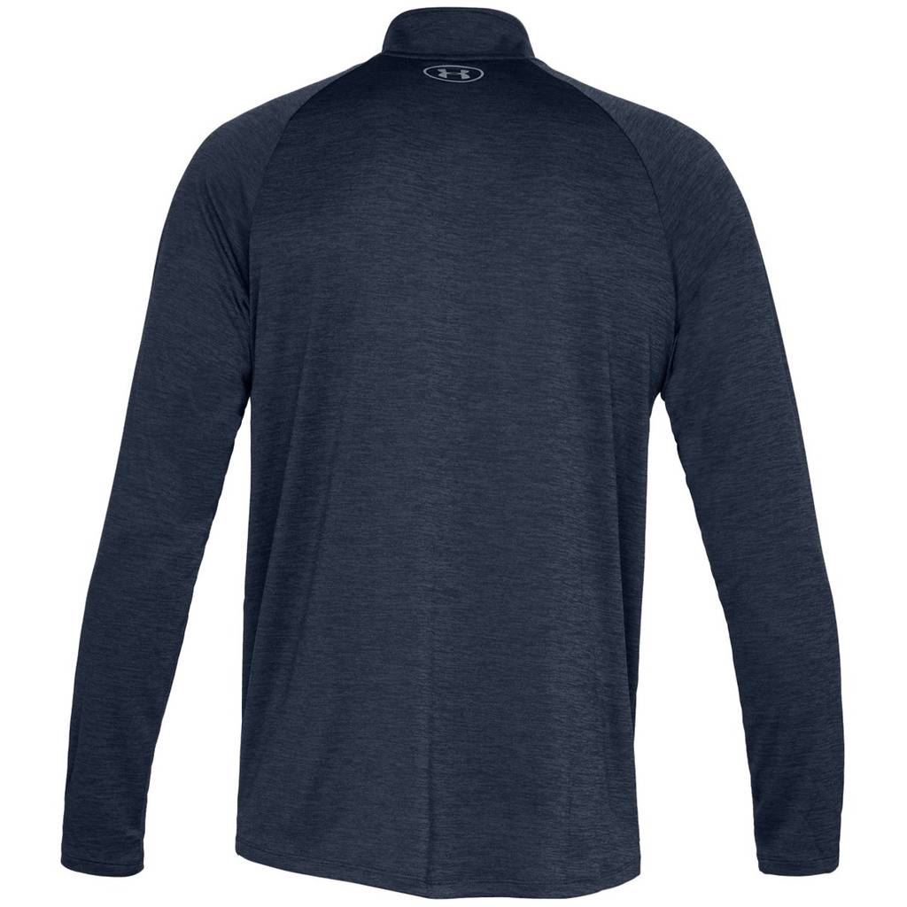 Under-Armour-Mens-2019-UA-Tech-1-2-Zip-Sweater-Mens-Training-Breathable-GYM-Top thumbnail 7