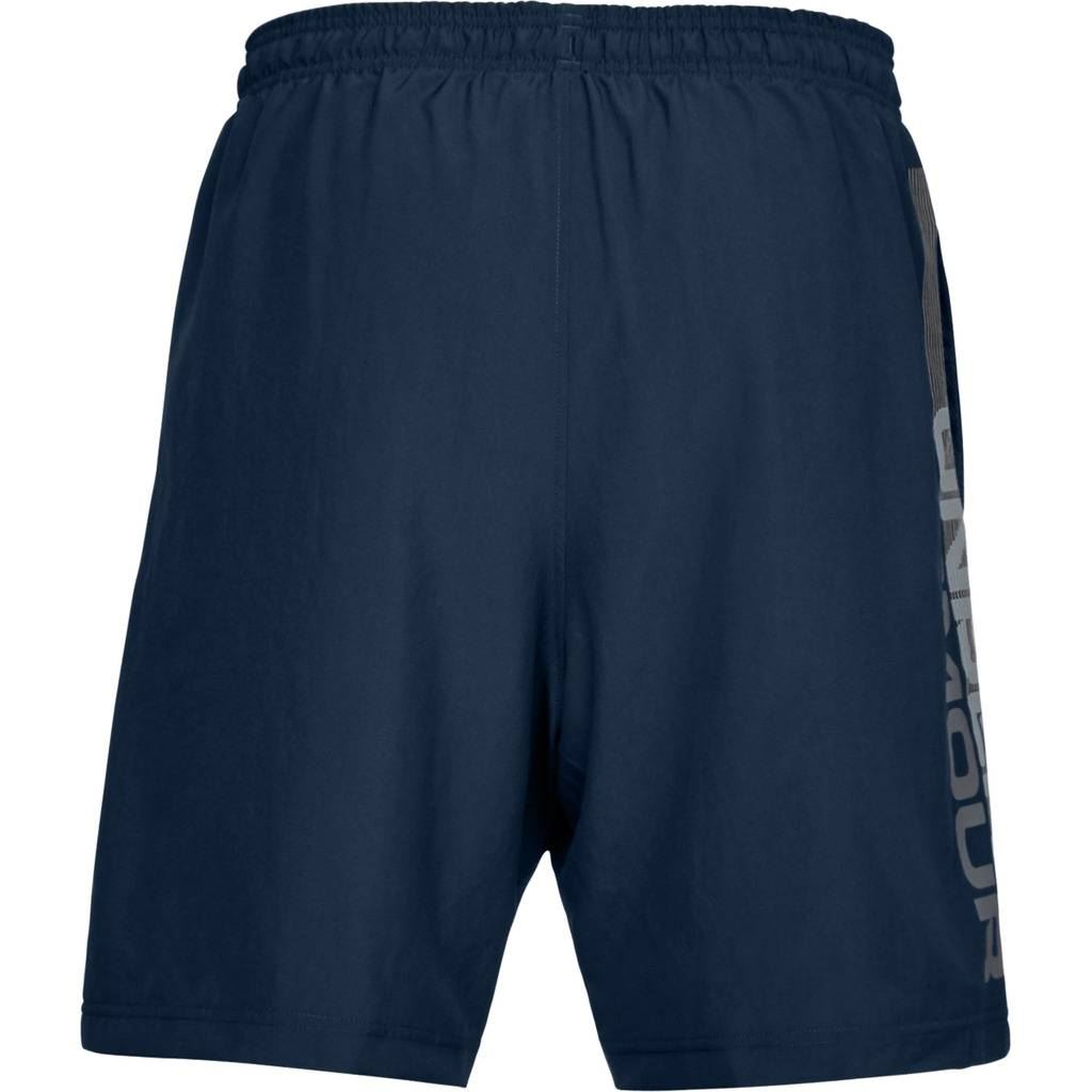 UNDER-ARMOUR-2019-MENS-UA-WOVEN-GRAPHIC-WORDMARK-SPORTS-FITNESS-GYM-SHORTS thumbnail 5