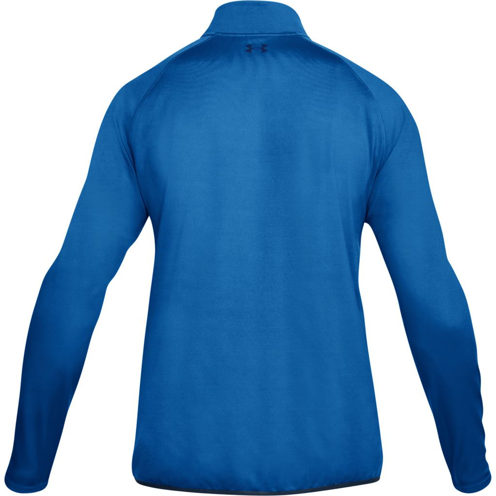 UNDER-ARMOUR-MENS-UA-GOLF-CRESTABLE-EU-MIDLAYER-1-4-ZIP-PULLOVER-TOP-SWEATER thumbnail 3