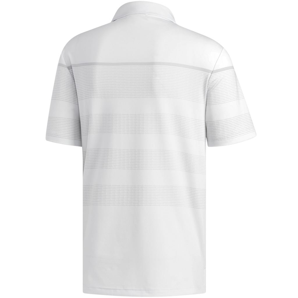adidas-Golf-2019-Mens-Ultimate-365-Dash-Stripe-Short-Sleeve-Golf-Polo-Shirt thumbnail 5