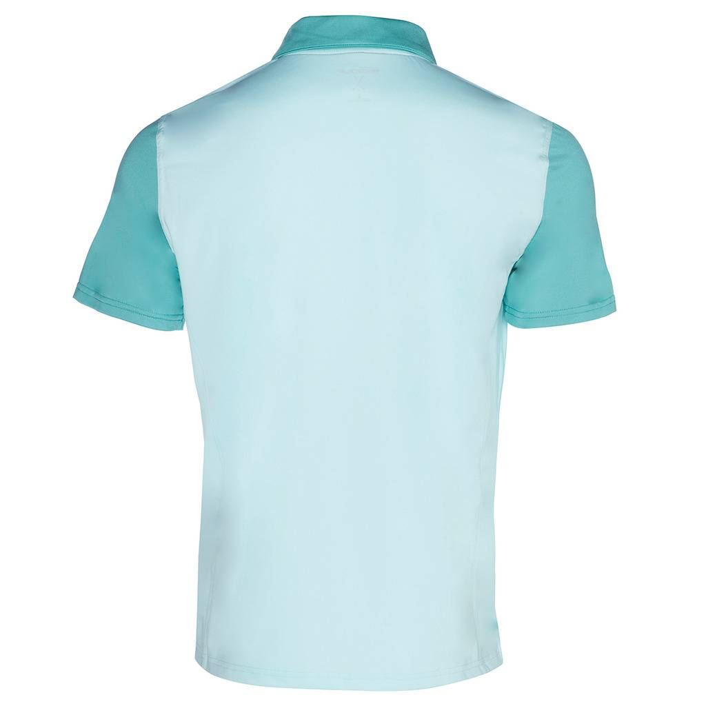 Skechers-Ir-Golf-Polo-para-hombre-Monterey-Manga-Corta-Camisas-Polo-de-rendimiento miniatura 5
