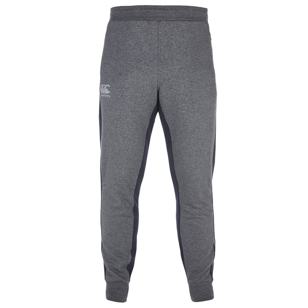 Canterbury-Tapered-Fleece-Reflective-Pants-Mens-Sports-Tracksuit-Bottoms