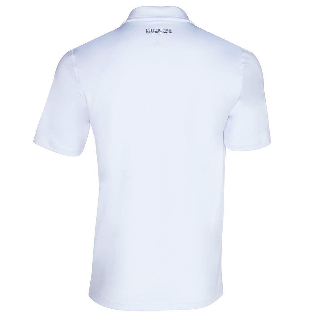 Skechers-Ir-golf-para-hombre-Sawgrass-Bolsillo-Manga-Corta-Camisas-Polo-de-rendimiento miniatura 9