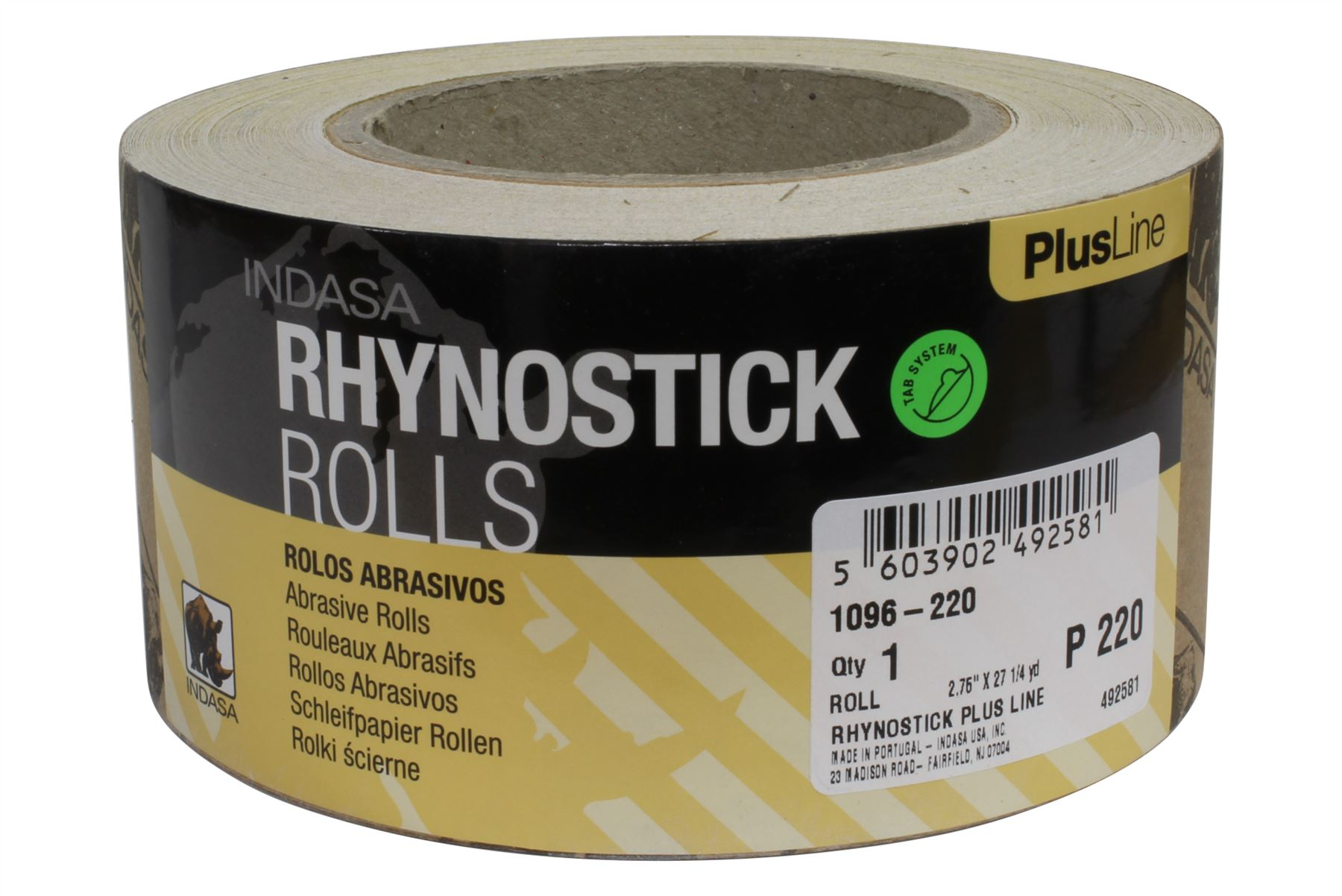 Indasa Rhynostick Psa Sandpaper 2 75 Quot X 27 2 Yds Roll For