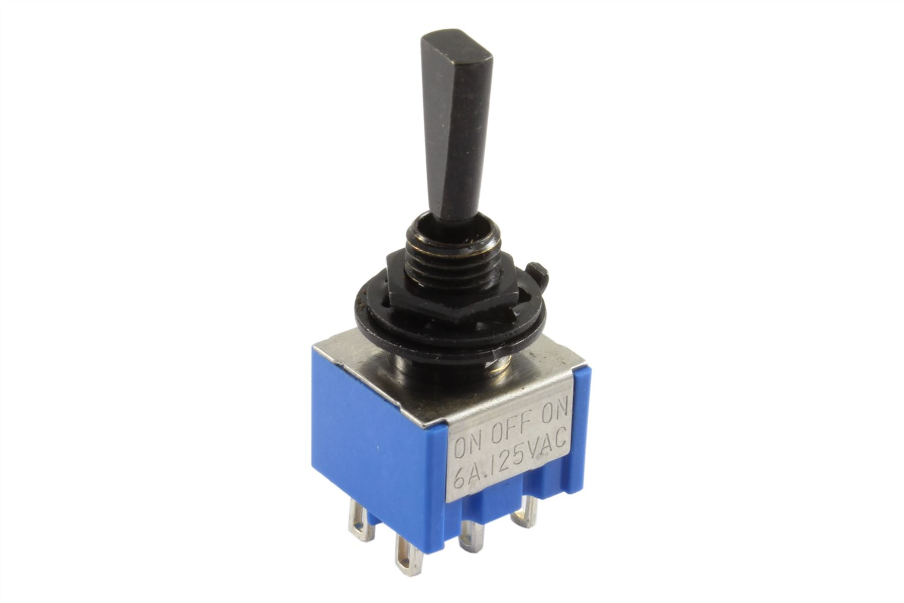Mini flat paddle toggle switch 3 way on off on black ebay for 3 com switch