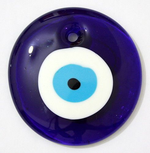 Blue medium turkish evil eye lucky charm pendant kabbalah glass blue medium turkish evil eye lucky charm pendant kabbalah glass jewelry aloadofball Images