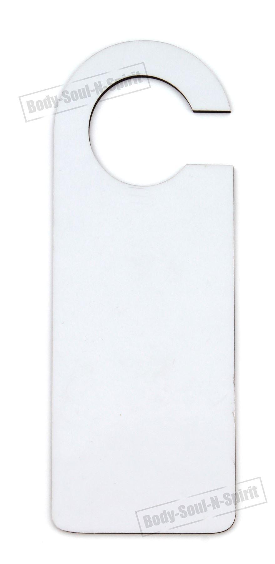 Details About Sublimation Door Hanger Sign Mdf Blank Wooden Dye Heat Press Machine Decor