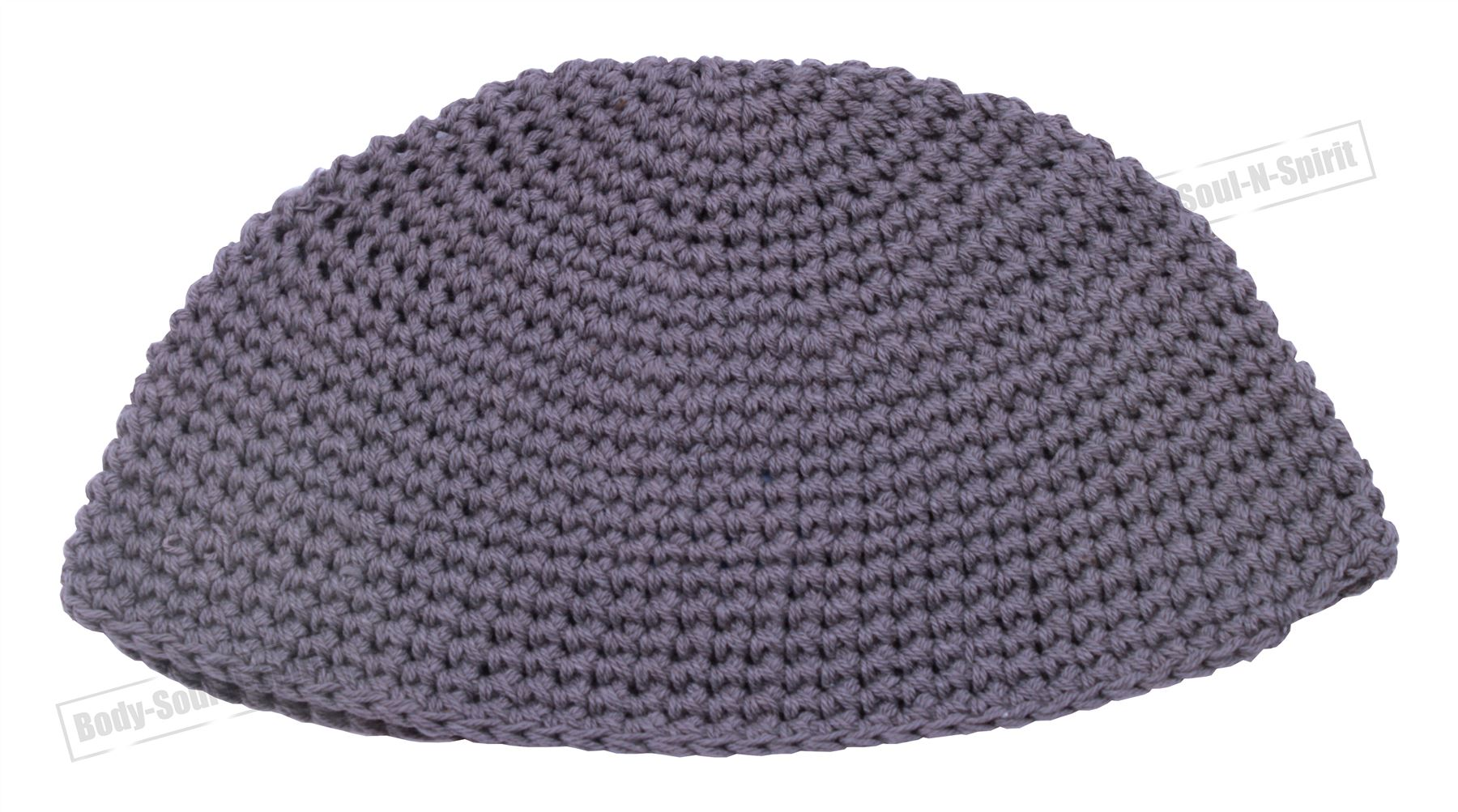 Gray Knitted Kippah Yarmulke Tribal Jewish Hat covering Cap Holy ...