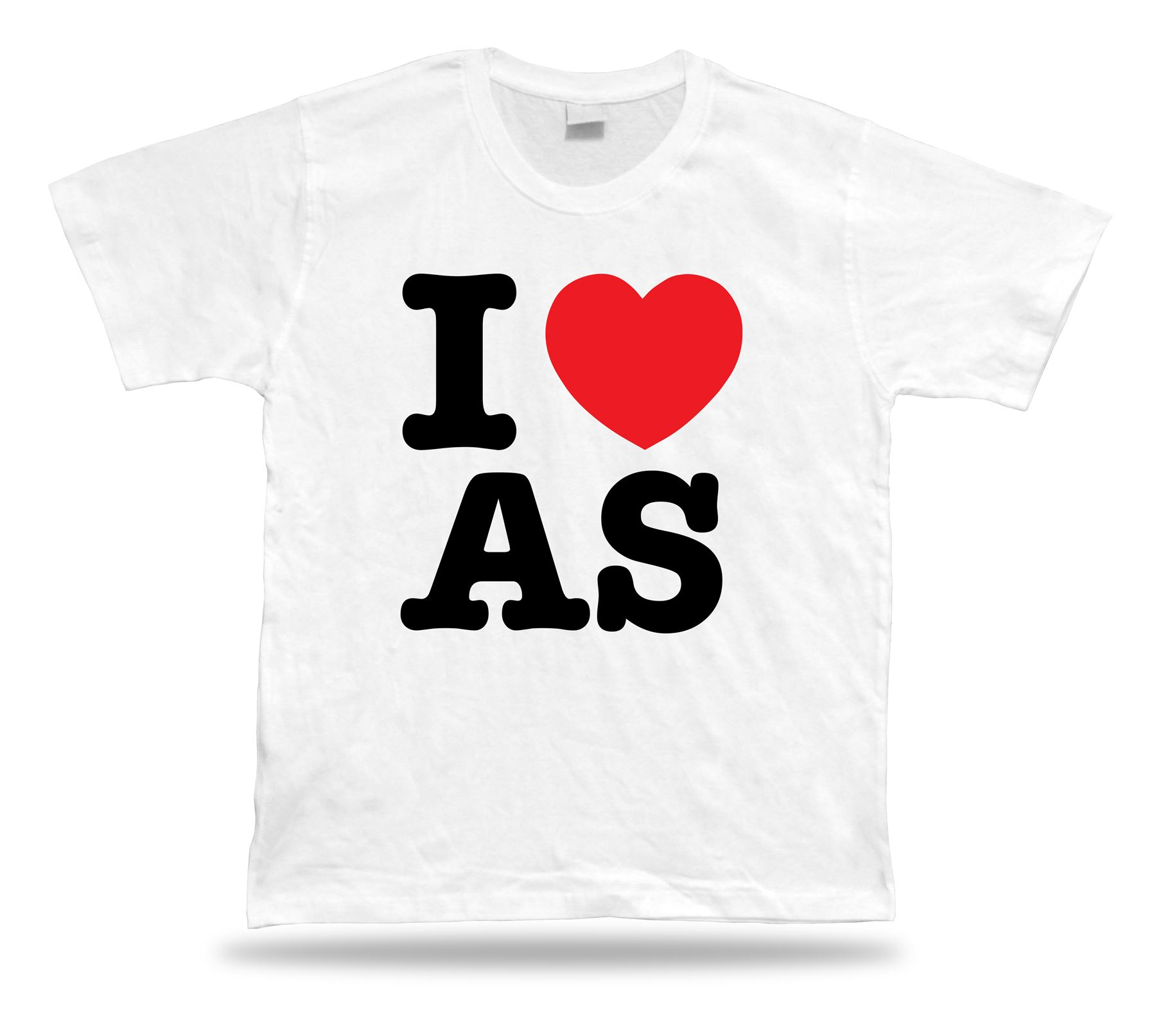 I Love as American Samoa T-shirt Heart Fashion Design Accessory ... d50096dec