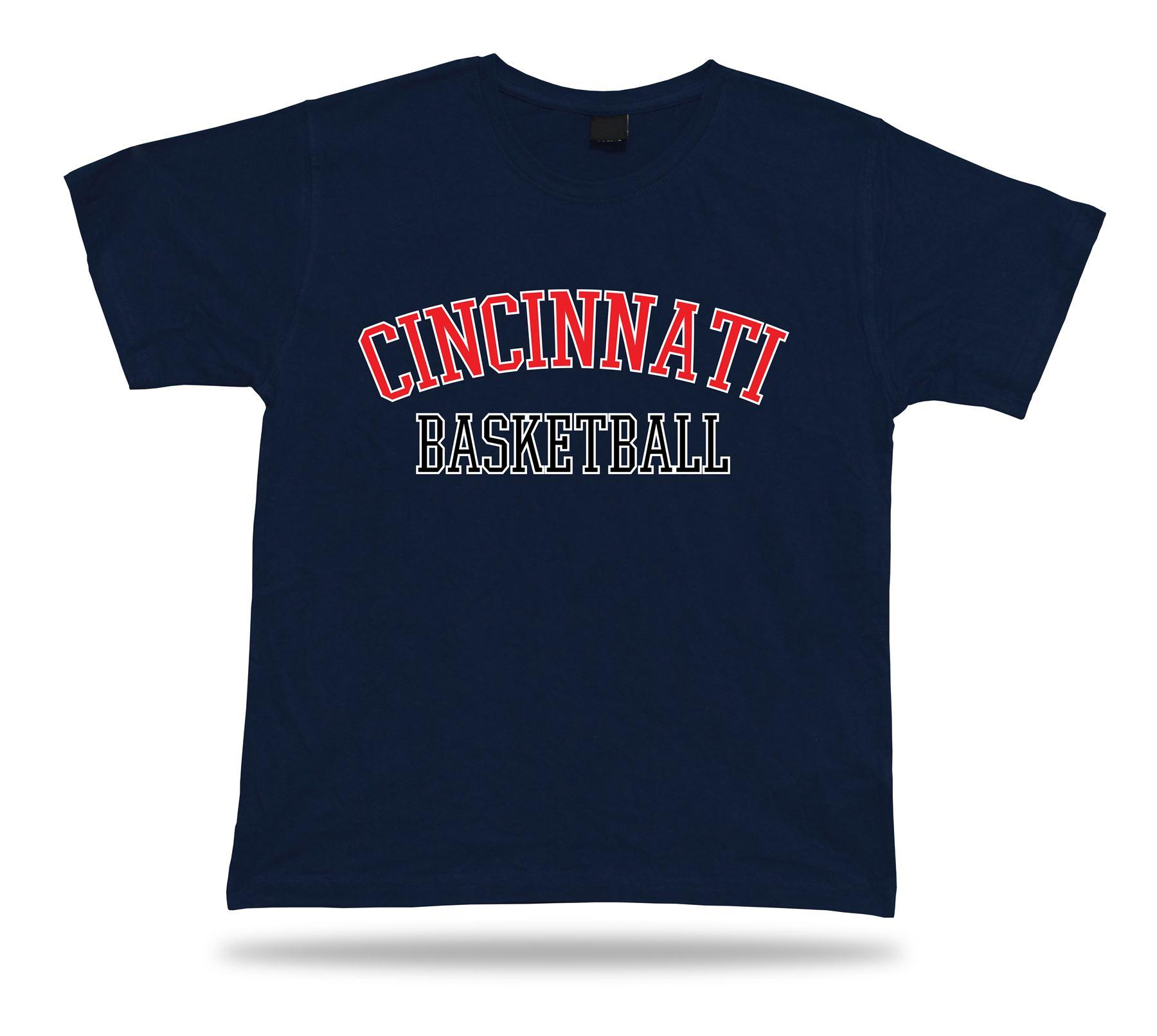 Cincinnati usa basketball t shirt tee warm up style court for T shirt design usa