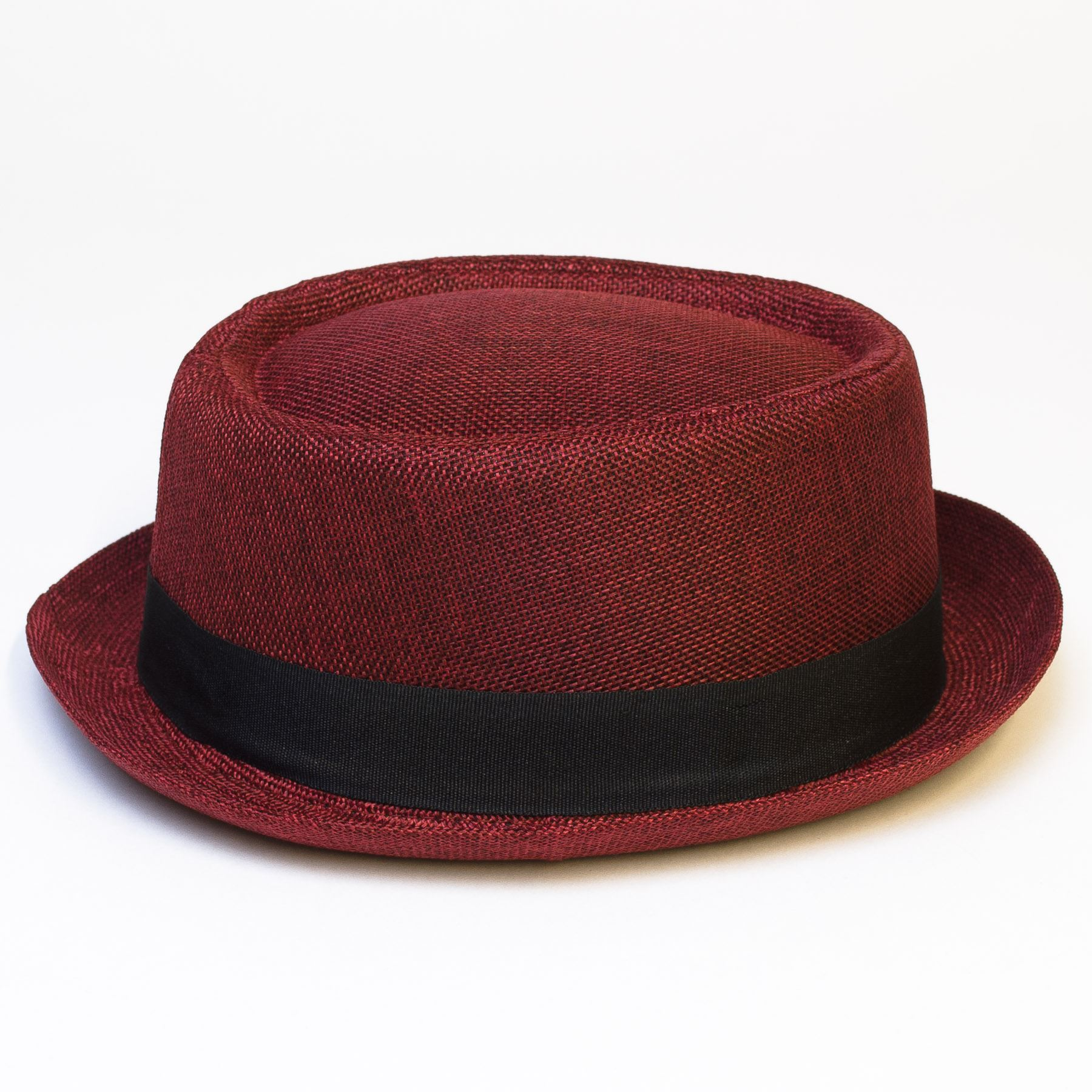 Pork-Pie-Hat-with-Black-Grosgrain-Band thumbnail 24
