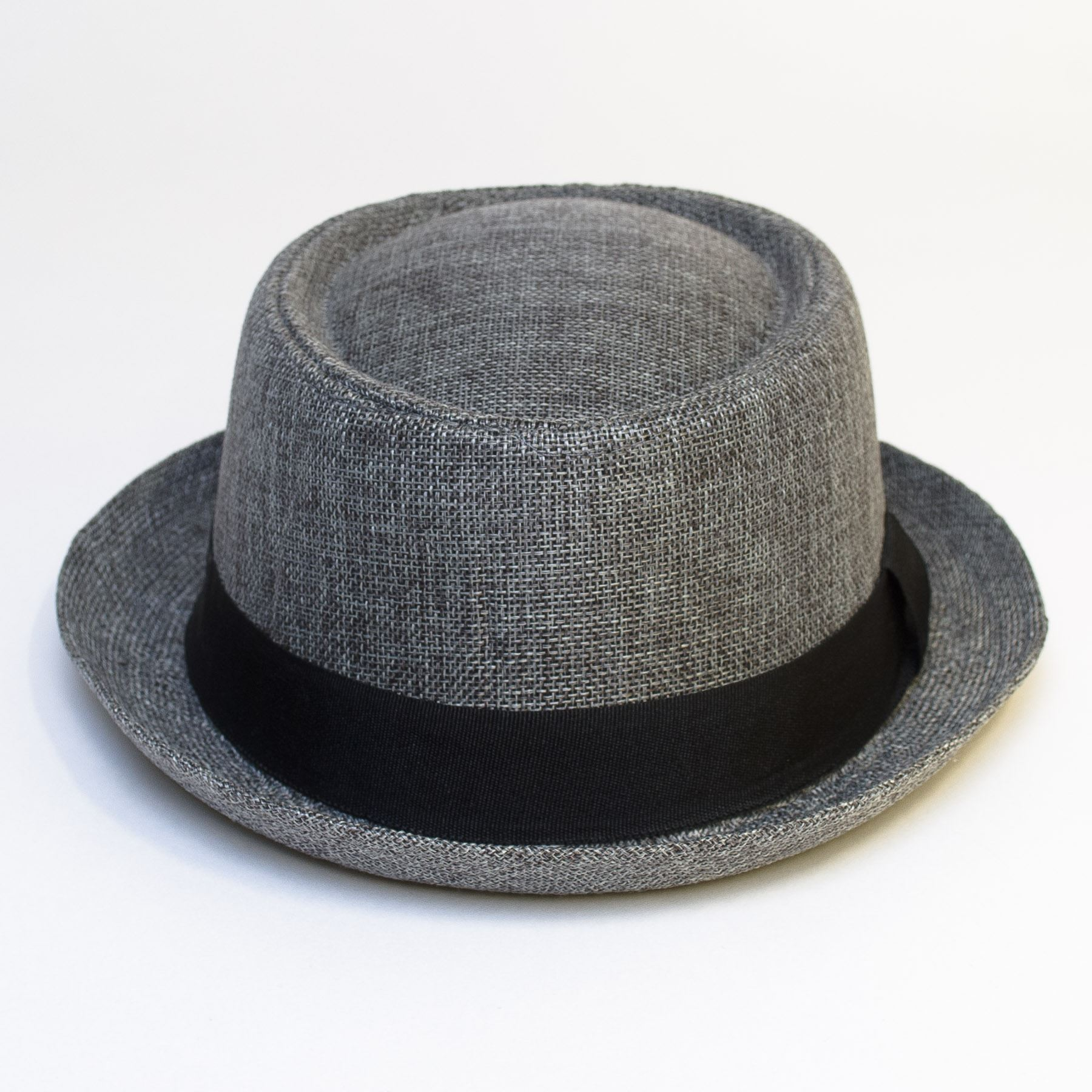 Pork-Pie-Hat-with-Black-Grosgrain-Band thumbnail 20