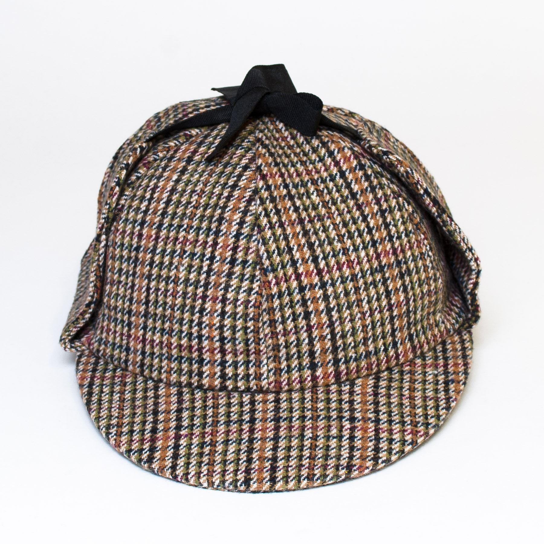 günstig wähle spätestens wähle authentisch Details about Wool Blend Sherlock Holmes Style Hat with Black Ribbon