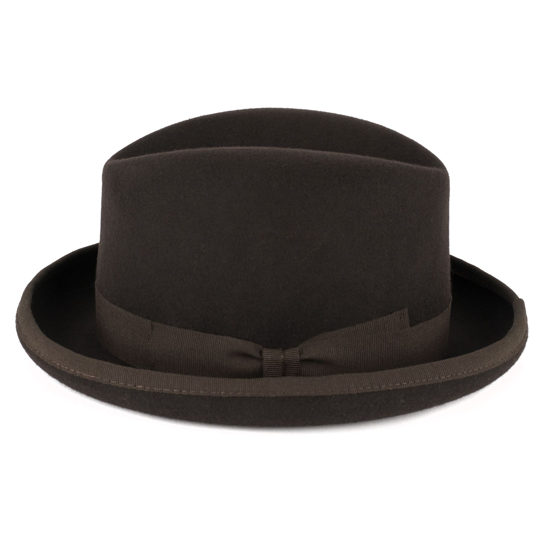 2d790ca4c4843 ZAKIRA Men s Homburg Hat in Fine Wool Felt - Handmade in Italy