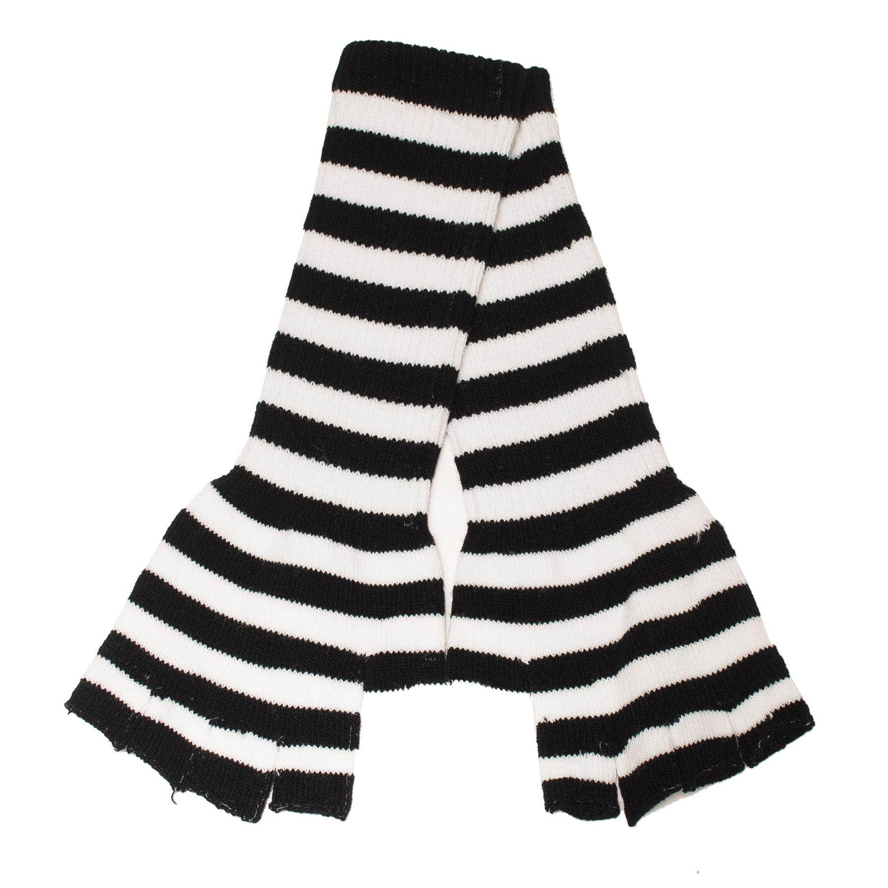 Unisex-Long-Fingerless-Gloves-with-Stripes