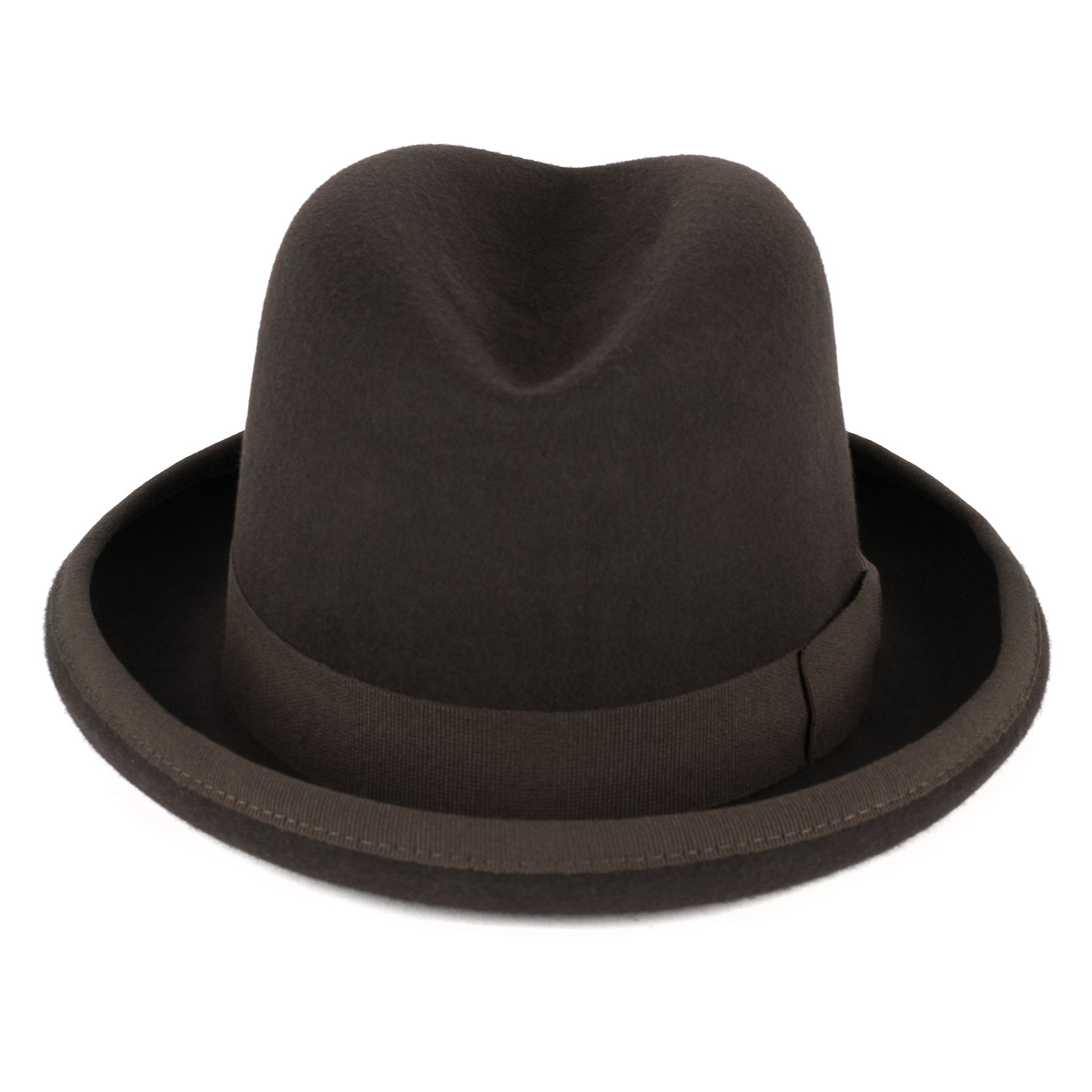 Zakira Men S Homburg Hat In Fine Wool Felt Handmade In Italy Ebay Matching ribbon and band around the bottom of the crown! details about zakira men s homburg hat in fine wool felt handmade in italy