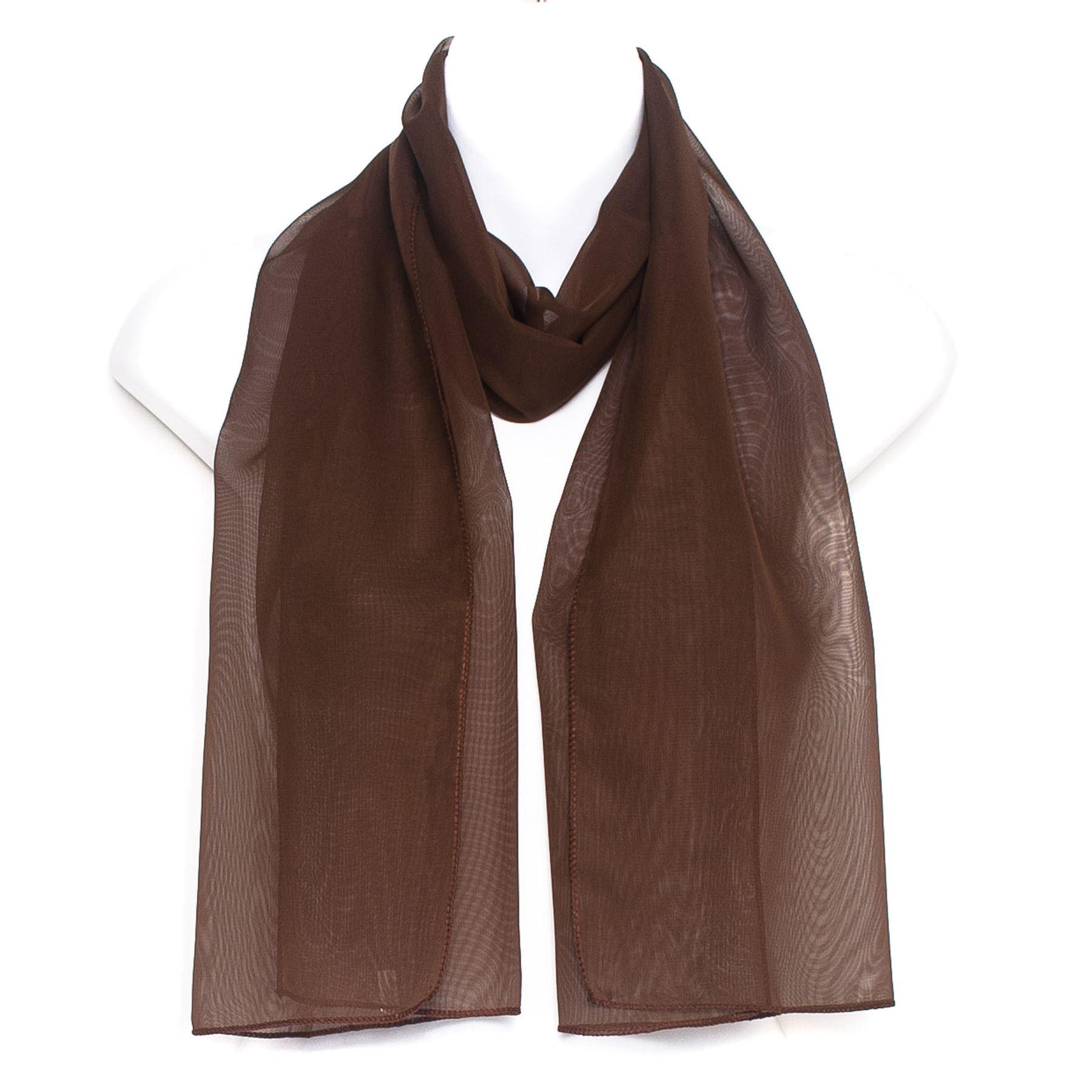 Hat To Socks Filles Femmes /écharpe en mousseline classique foulard /él/égant uni ch/âle enveloppant