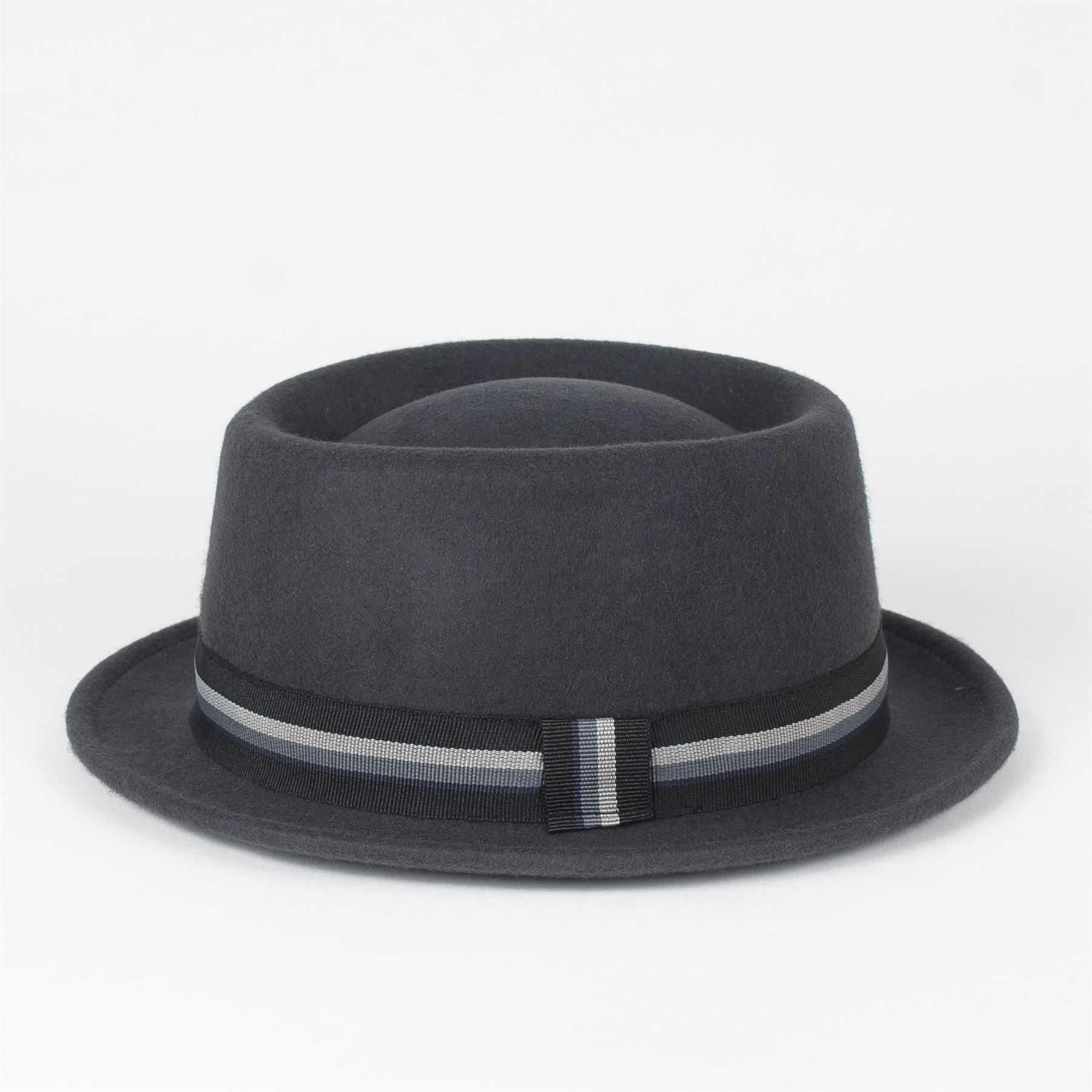 77cc1502f30 Stylish 100% Wool Pork Pie Hat Waterproof   Crushable