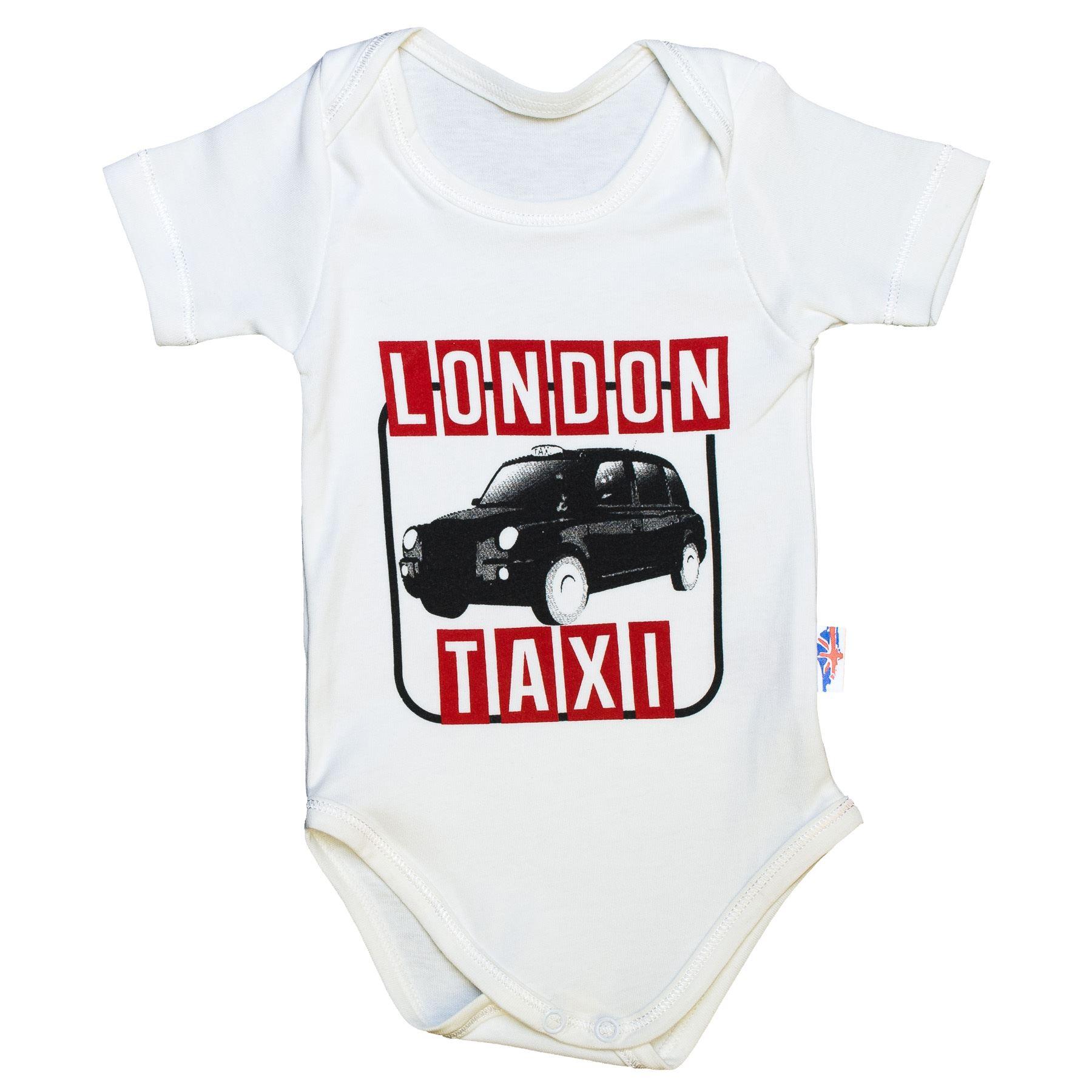 Baby Souvenir Body Suit Boy Girl Uni I Love GB Keep Calm Red Bus