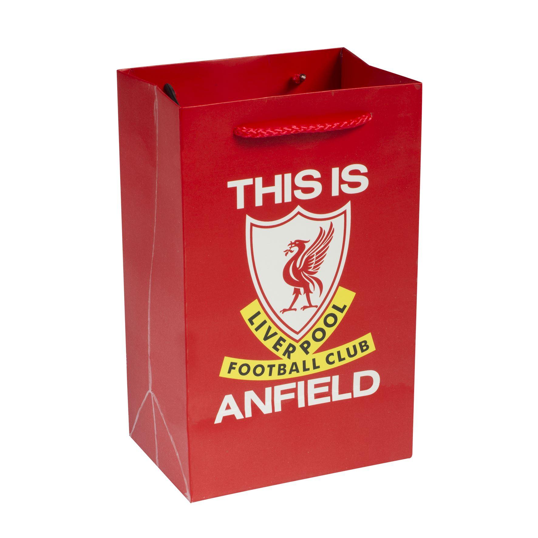 0c3c87a344 Liverpool FC LFC Bolsa de Regalo Pequeña Oficial
