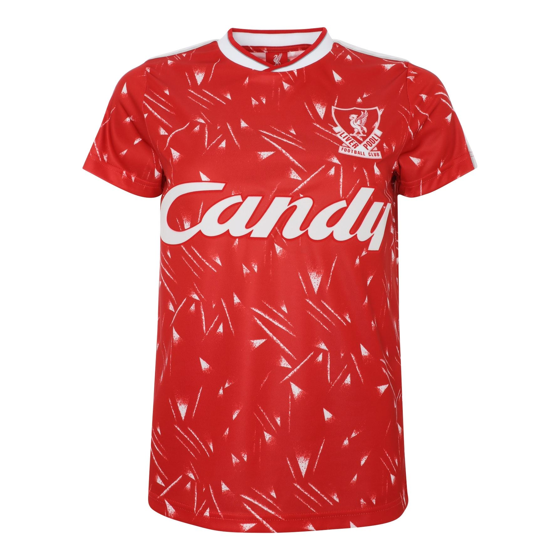 Liverpool Fan World Club Champions Retro Ringer Football T-Shirt 2019