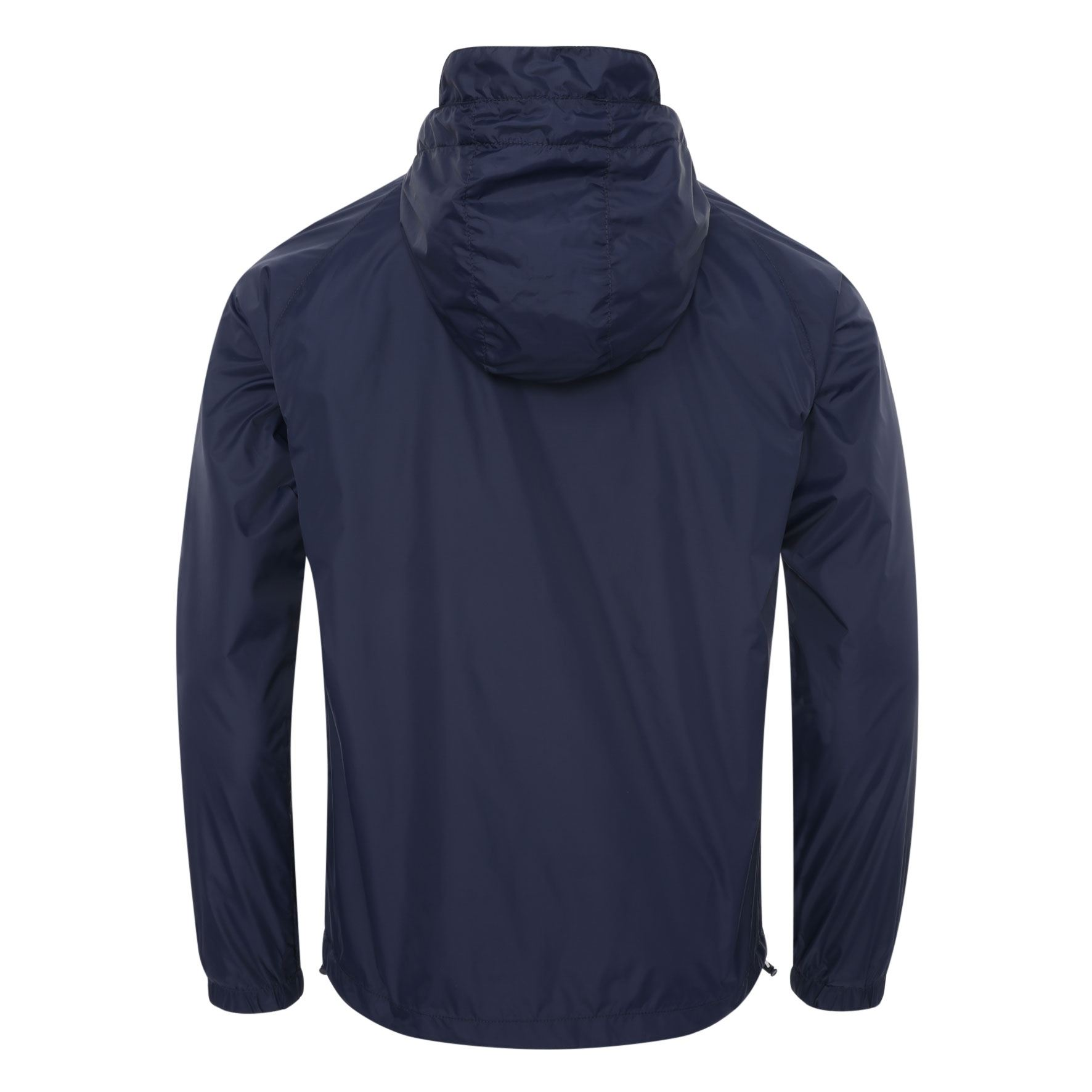 Liverpool FC Mens Navy Contrast Zip Kagool Jacket LFC Official
