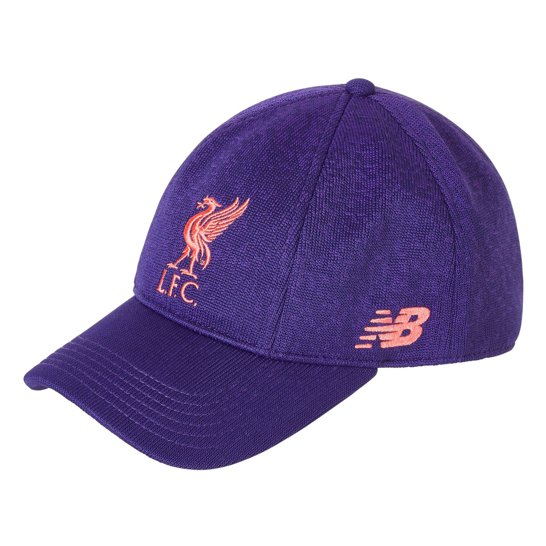 51094b921b3 Details about Liverpool FC NB Purple Klopp Marl Cap 18 19 LFC Official