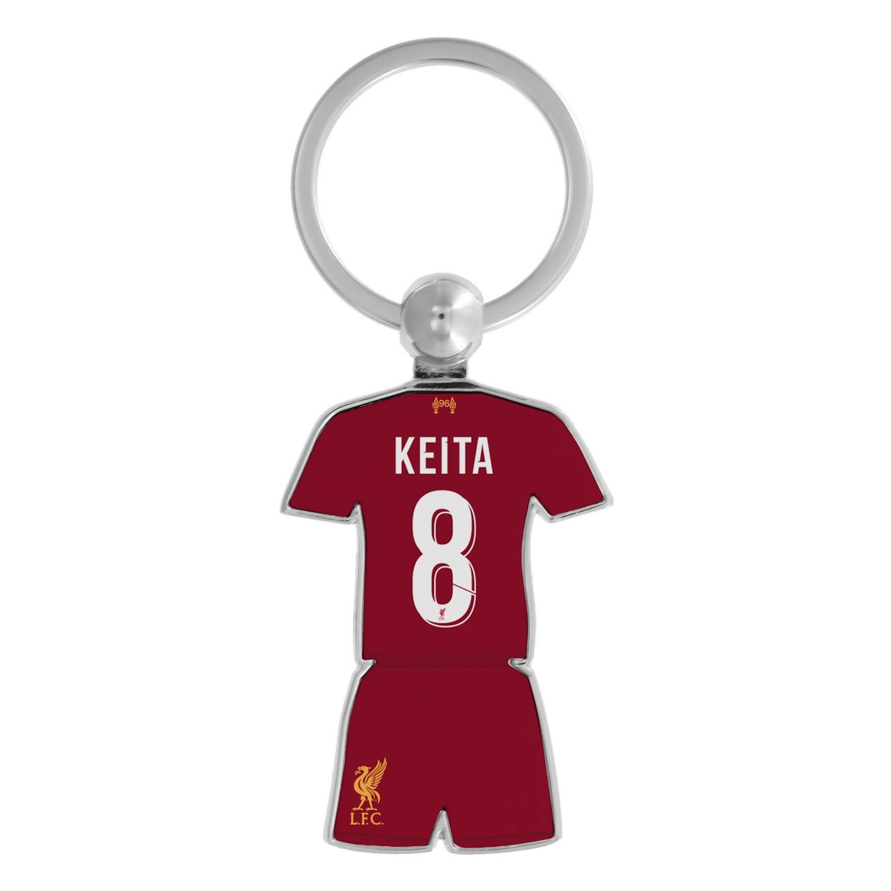 best service 3ce5a 98889 Details about Liverpool FC Red Soccer Keita Kit Keyring 19/20 LFC Official
