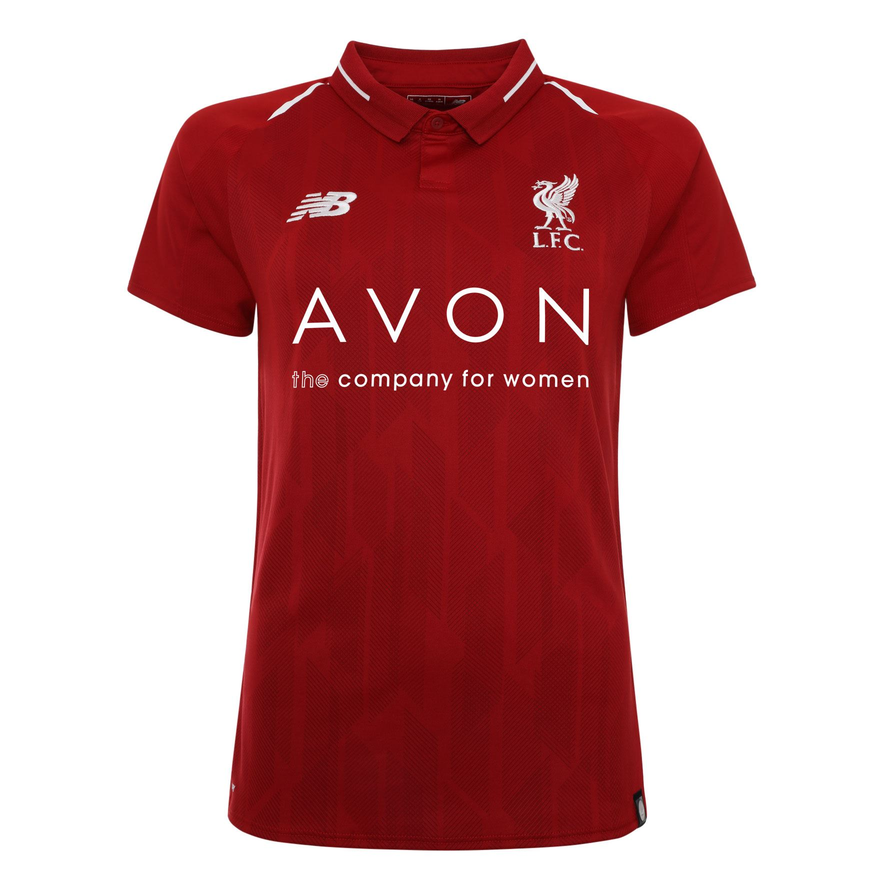 Details about FC Liverpool Home Kit Red Womens Avon Soccer Shirt 18 19 LFC  Official 50052da5b