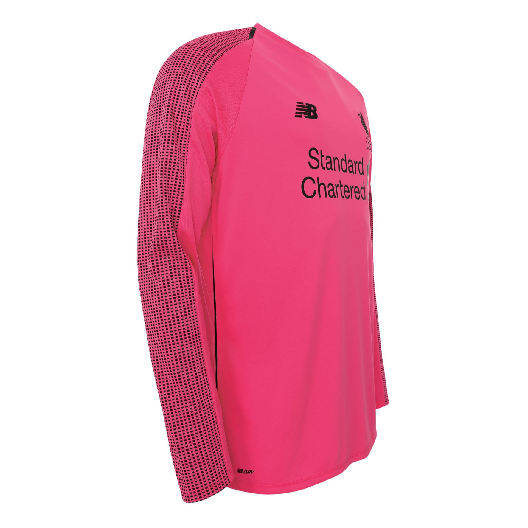 6c1390630 Liverpool Fc Manga Longa Rosa Meninos Futebol Camisa Goleiro Third ...