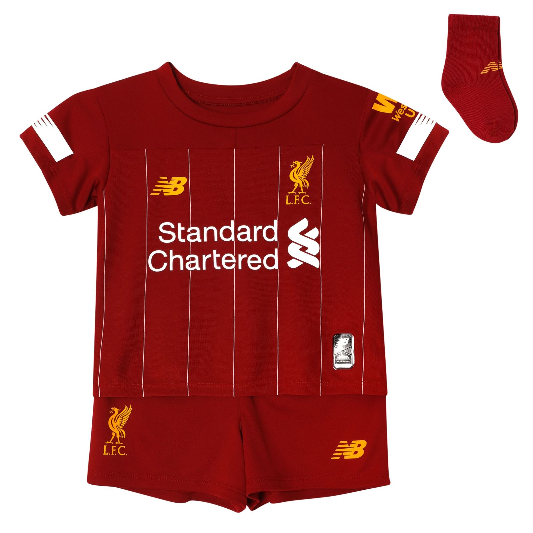best deals on a6d35 3a26a Details about Liverpool FC Home Kit Red Baby Boys Football Kit 2019/2020  LFC Official
