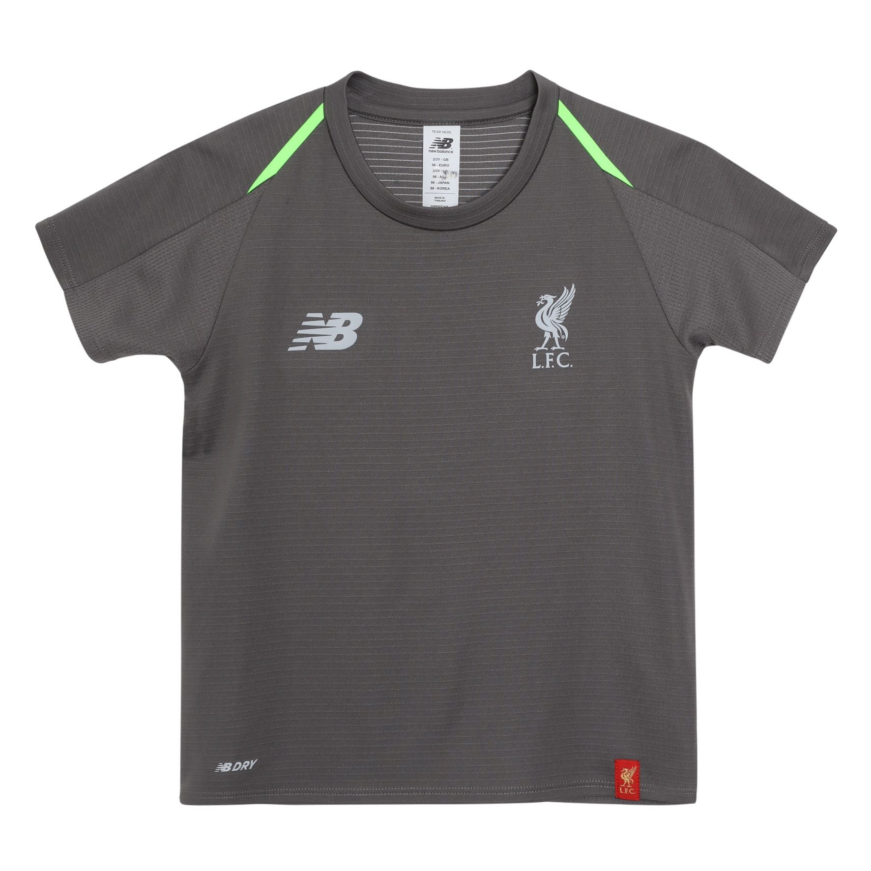 5d34c8240 Details about FC Liverpool Grey Baby Infant Training Football Shirt 18/19  LFC Official Store