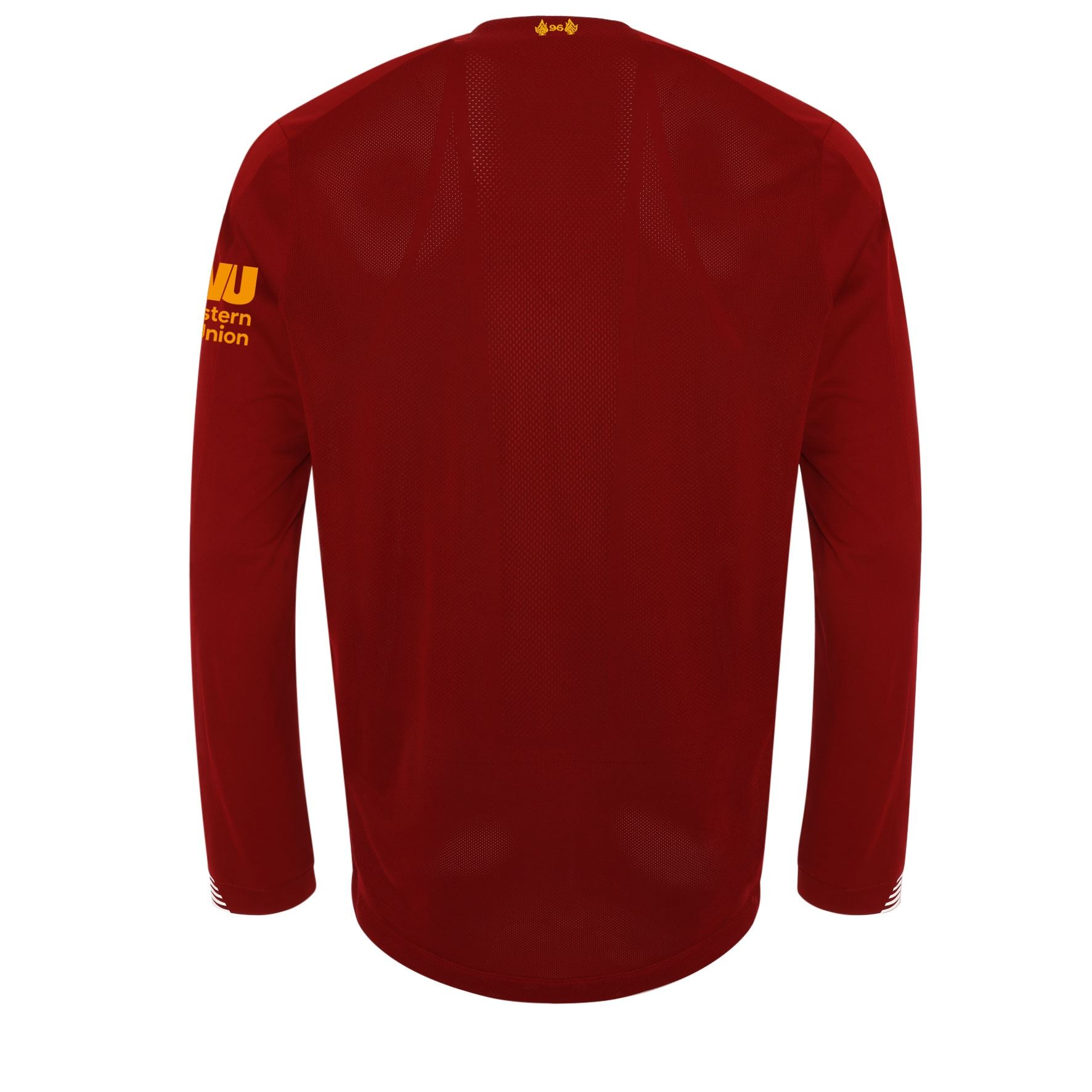 cheaper 479e2 cff85 Details about Liverpool FC Home Kit Red Long Sleeve Mens Soccer Shirt  2019/2020 LFC Official