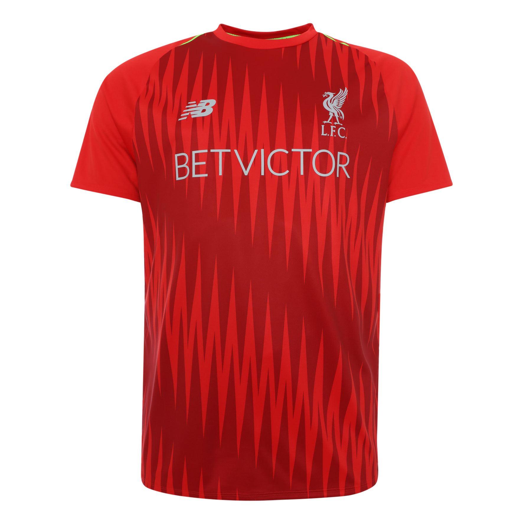 Livepool FC Camiseta Hombre Roja Entrenamiento de Partido 18 19 LFC Oficial 240f89e3f5eb7