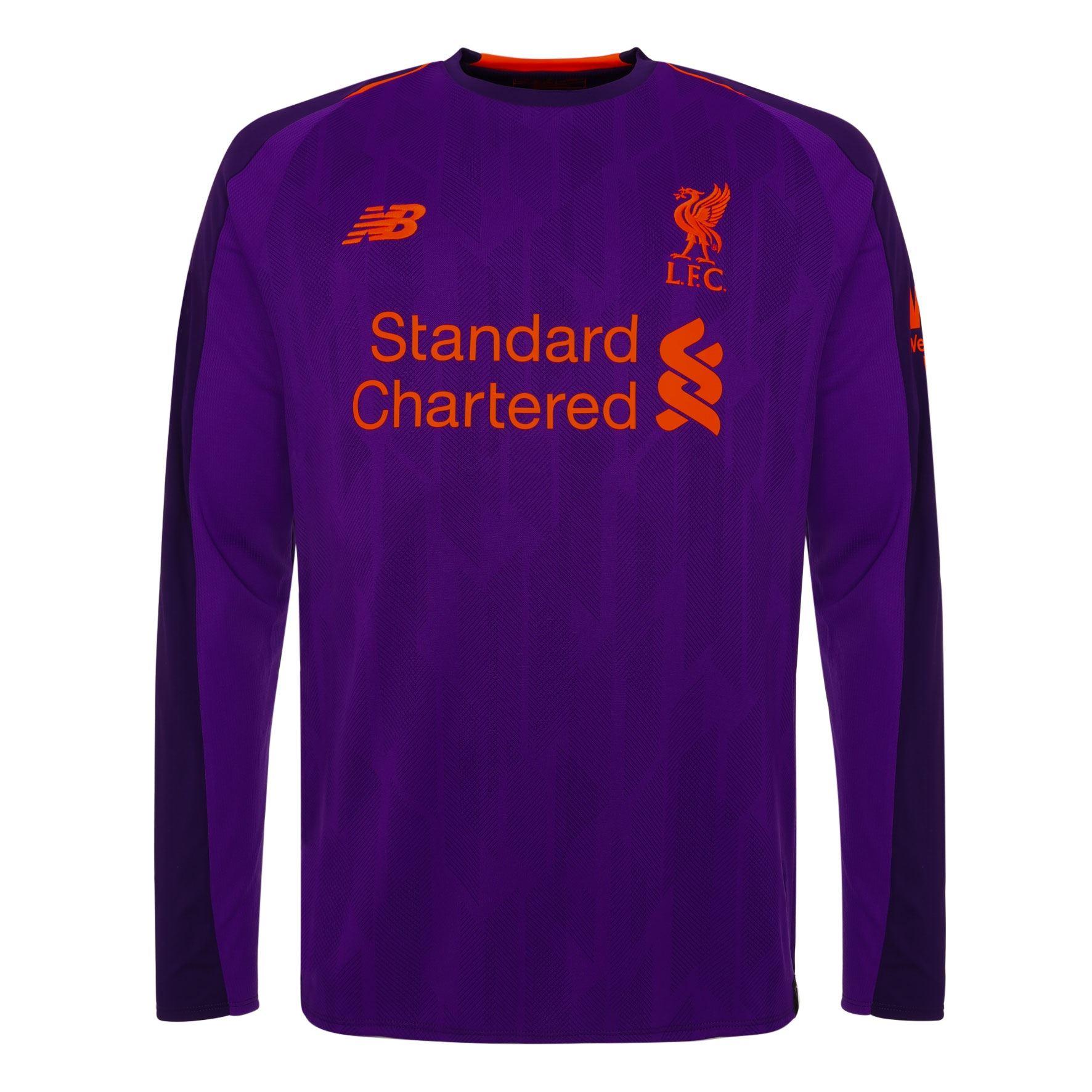 La imagen se está cargando Liverpool-FC-Camiseta -de-Segunda-Equipacion-Hombre-Manga- 97d87e127ce