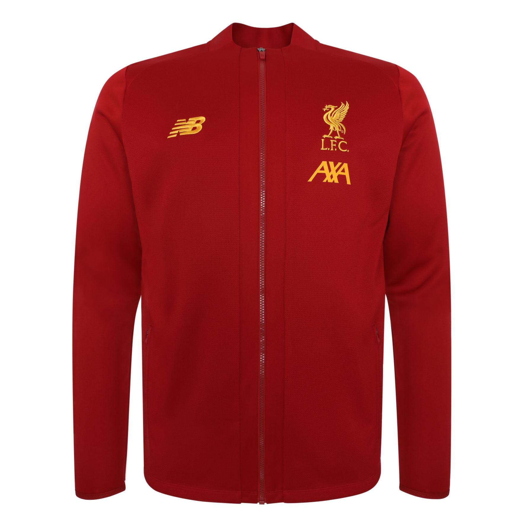 Fan Shop Liverpool FC Grey Mens Soccer Training Walk Out