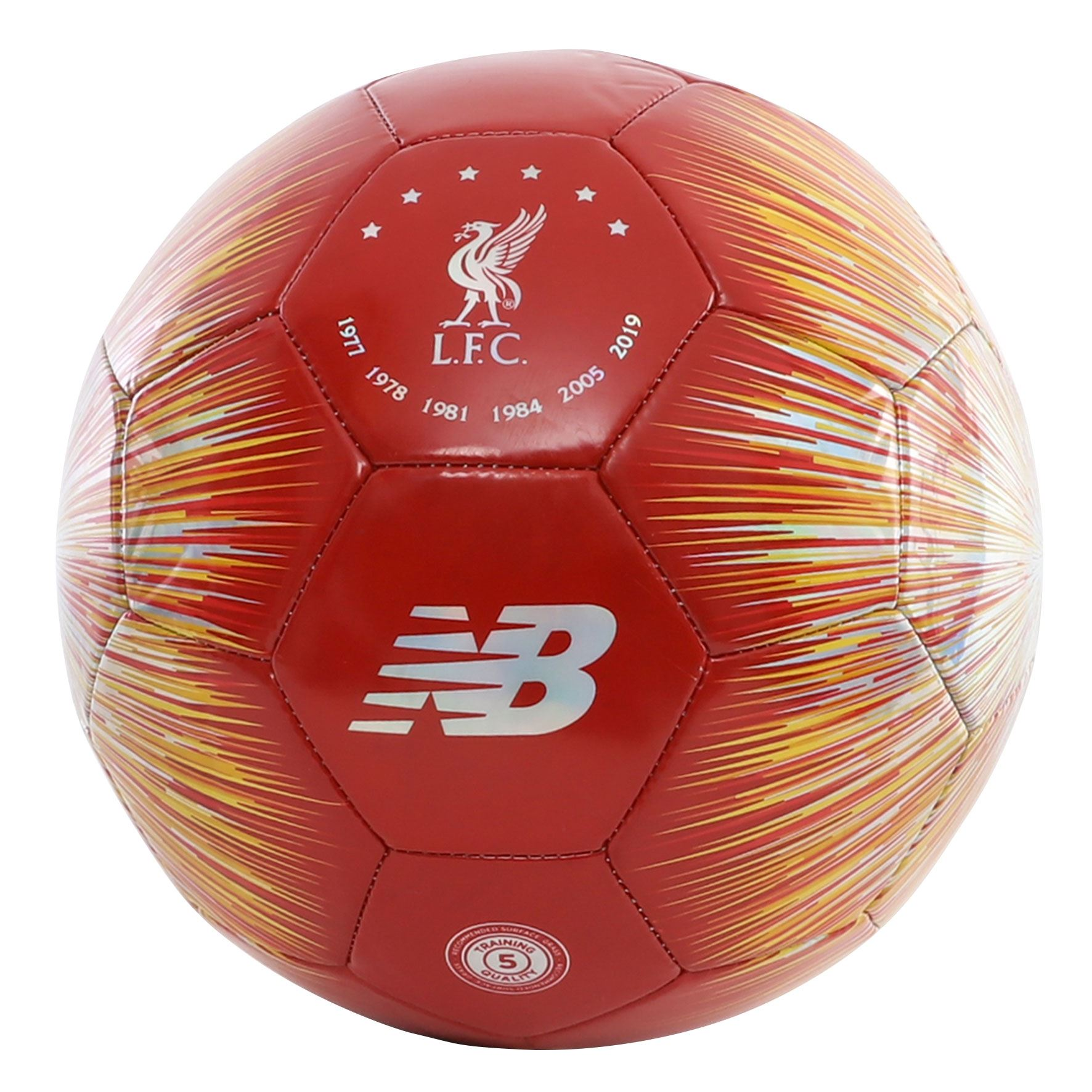 Liverpool FC Red And White Size 5 Ball LFC Official Store