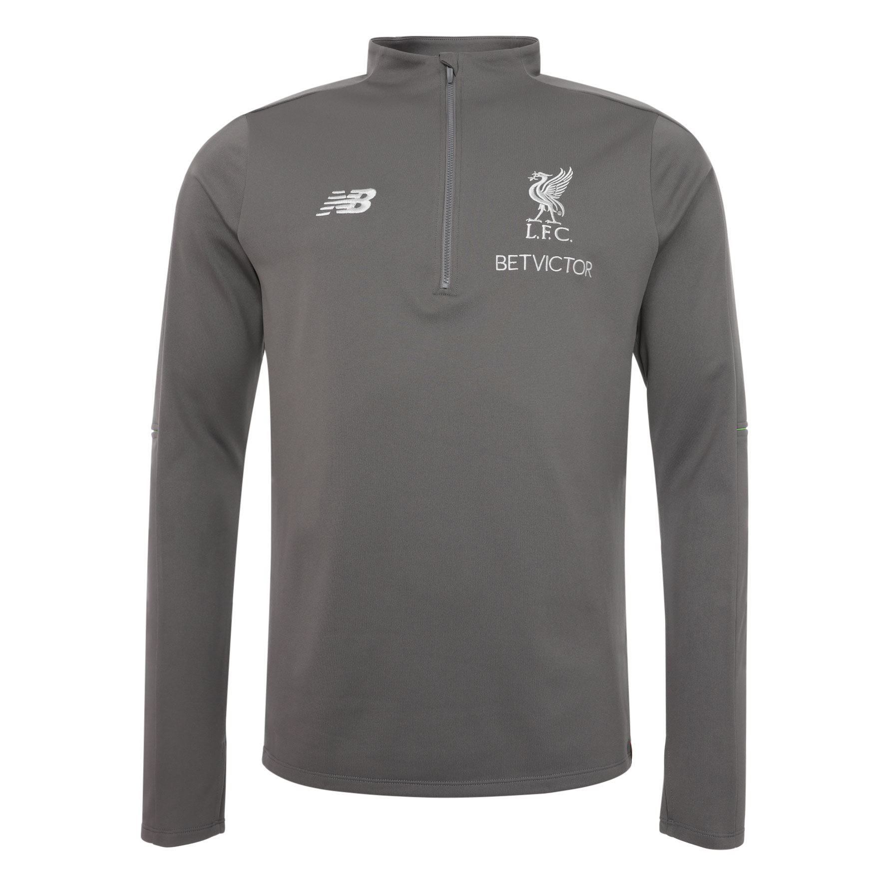 f9e20cccc4b Liverpool FC Grey Mens Soccer Sweater Training Hybrid 18 19 LFC Official  Store
