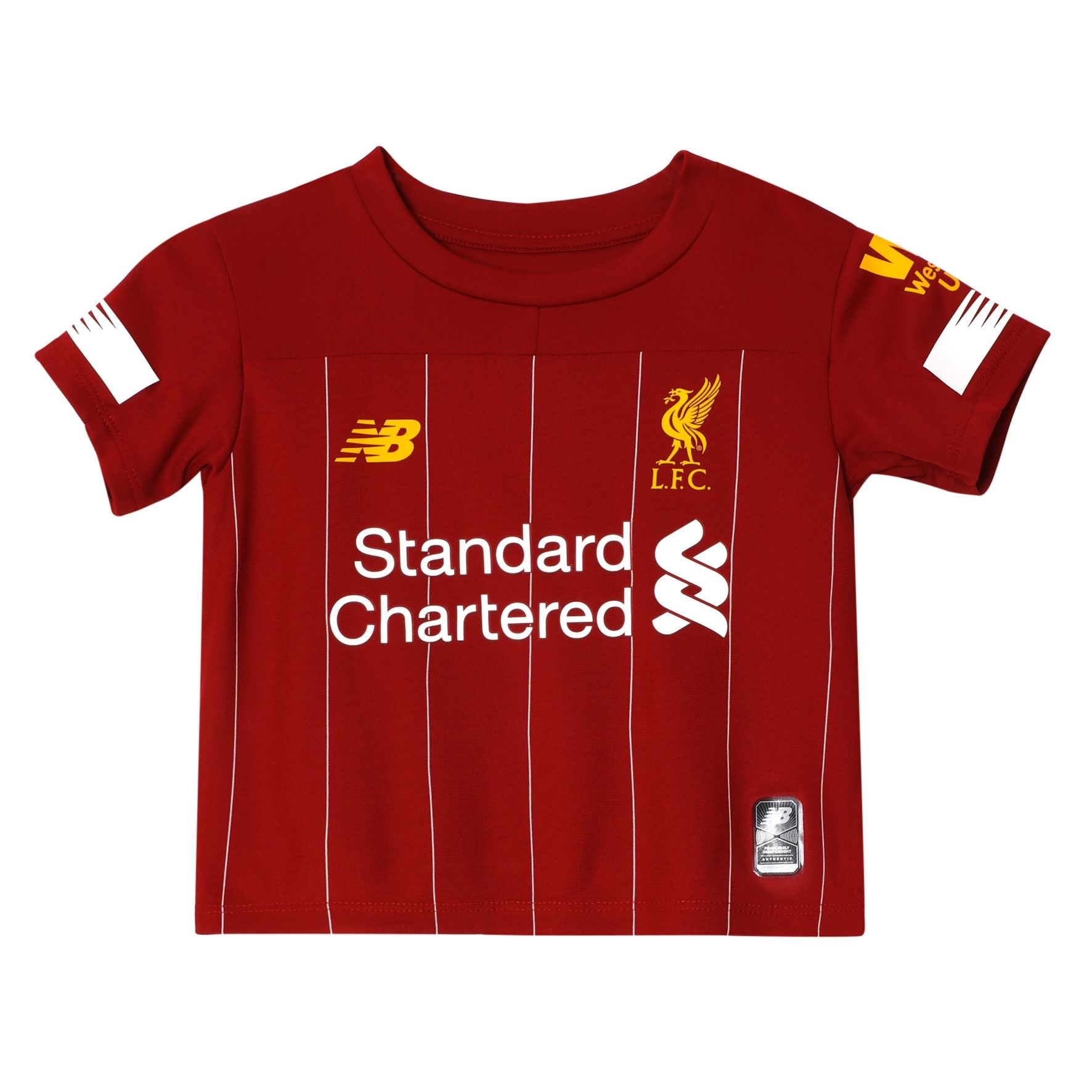 Liverpool FC Home Kit Red Baby Boys Soccer Kit 2019/2020 ...