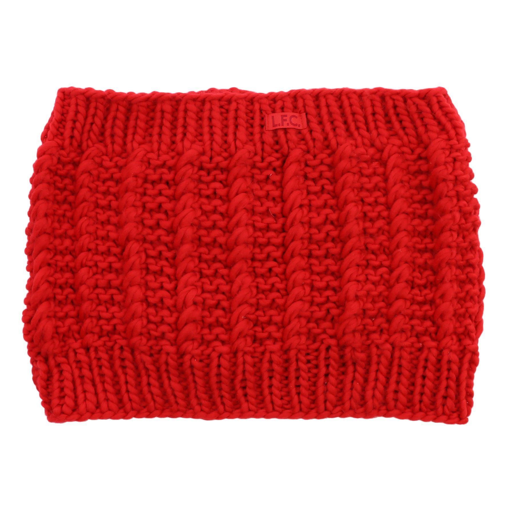 Liverpool FC Cuello LFC Mujer Rojo Patrón de Cable Oficial | eBay
