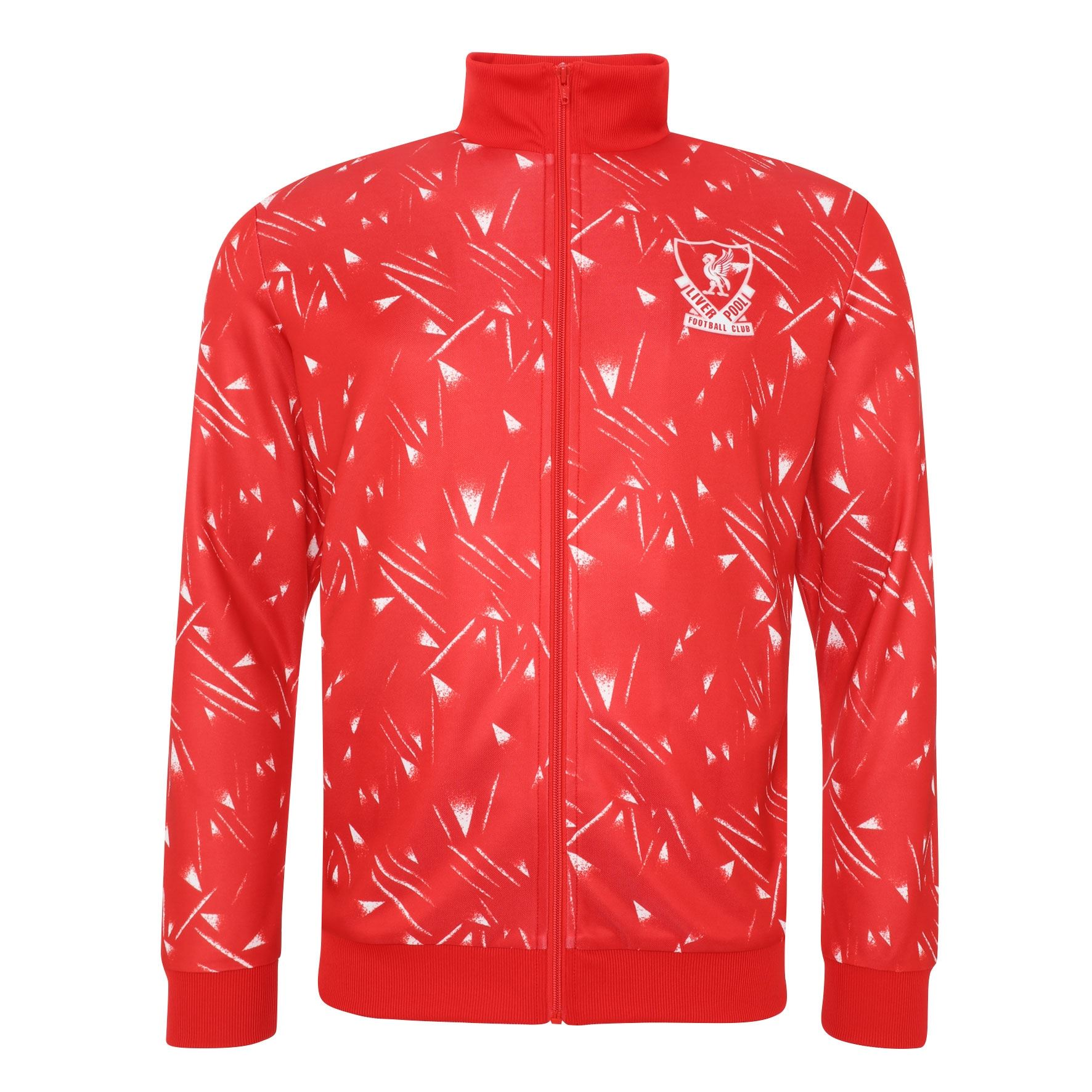 Liverpool Fc Mens Retro Candy Track Jacket Lfc Official Ebay
