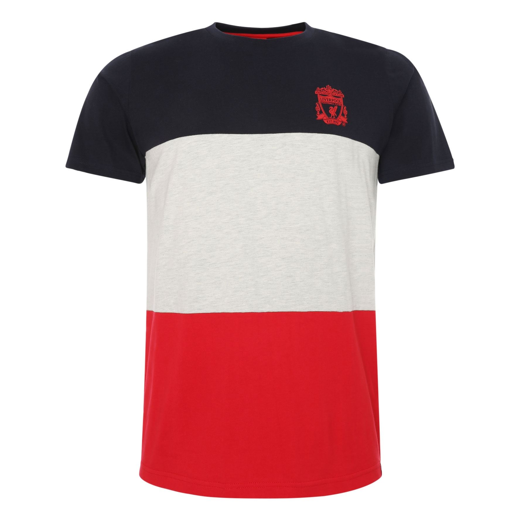 Liverpool FC T-Shirt Liverpool FC Rouge Homme LFC Officiel