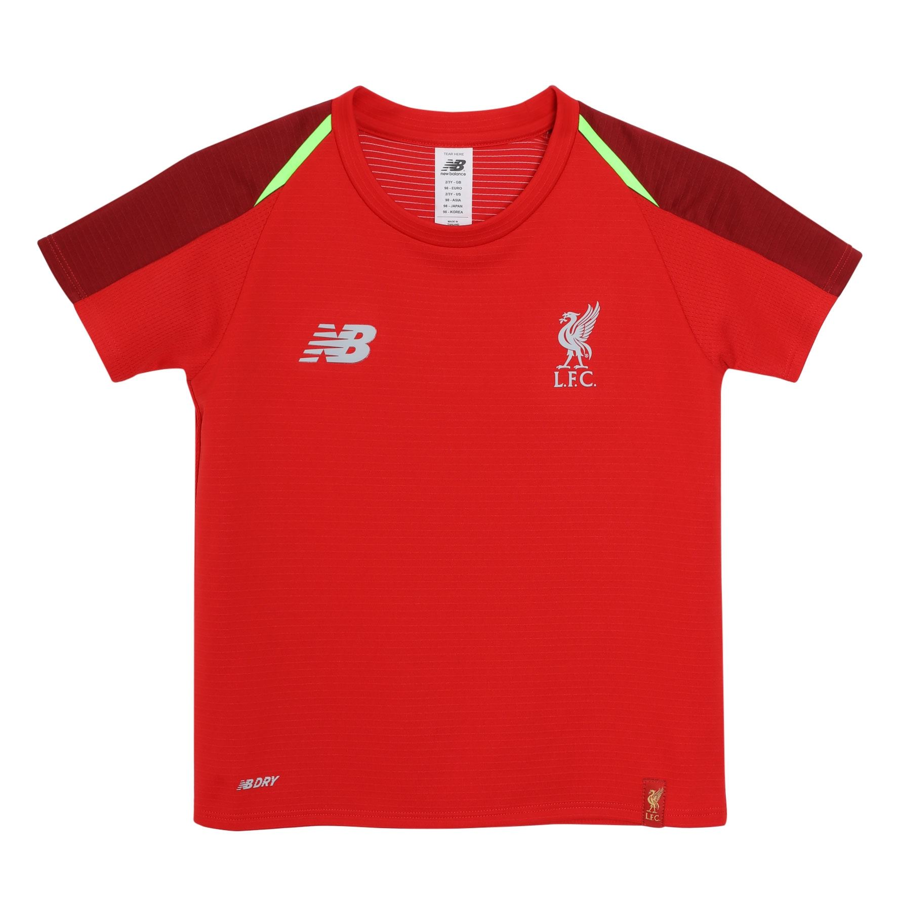 Details about Liverpool FC Red Polyester Infant Training Football Shirt  18 19 LFC Official 669a391f5